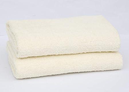 2 o 4 toallas de baño, 600 g/m², 100% algodón, calidad de hotel, super suave, muy absorbente, toalla de baño., algodón, crema, 2 PC: Amazon.es: Hogar