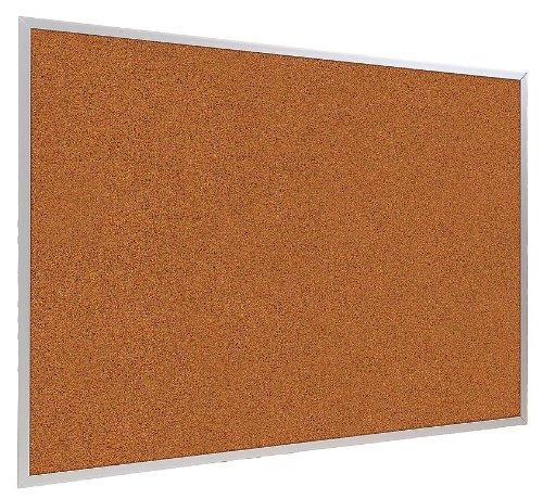 Bulletin Board, Red, Splash Cork, 48x120 in