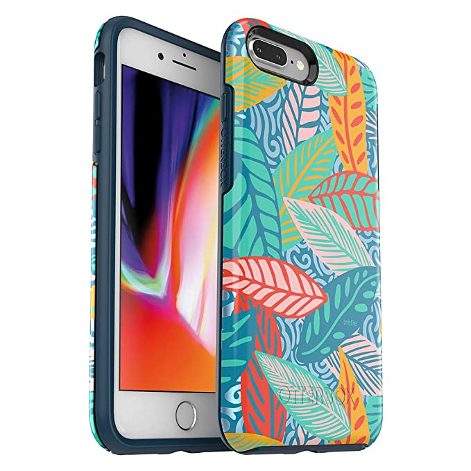 official photos fbf17 0fe6d OtterBox SYMMETRY SERIES Case for iPhone 8 Plus & iPhone 7 Plus (ONLY) -  Retail Packaging - Anegada by Trèfle