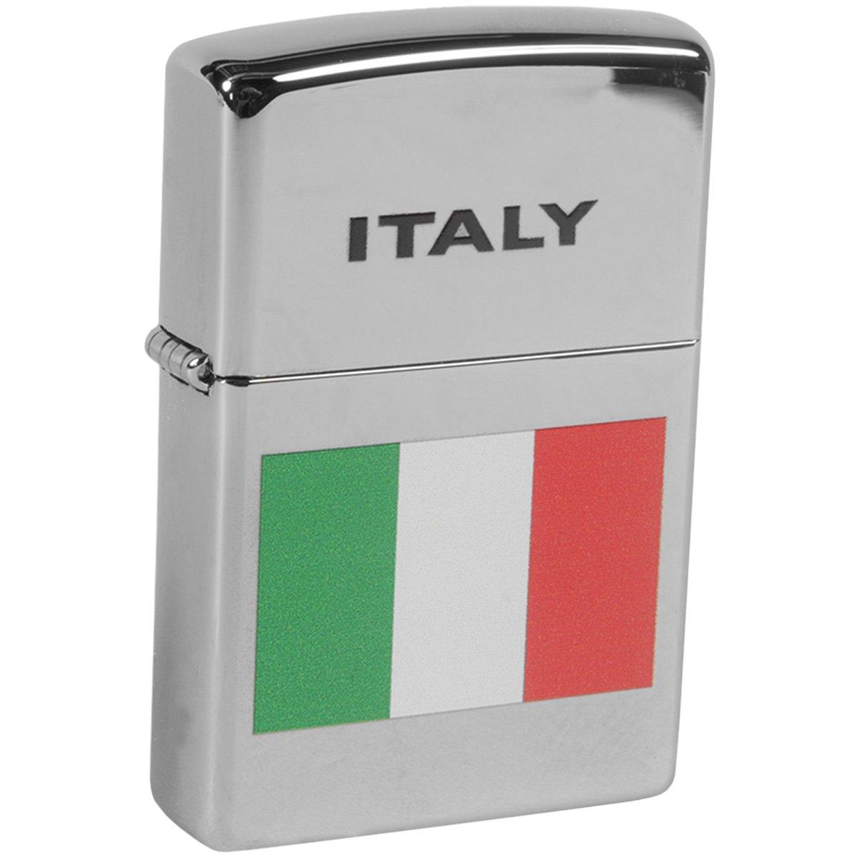 ''Italy Flag'' - Italian Flag Zippo Lighter