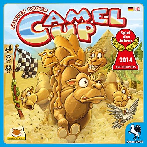 Pegasus Spiele 54541G - Camel Up - Spiel des Jahres 2014
