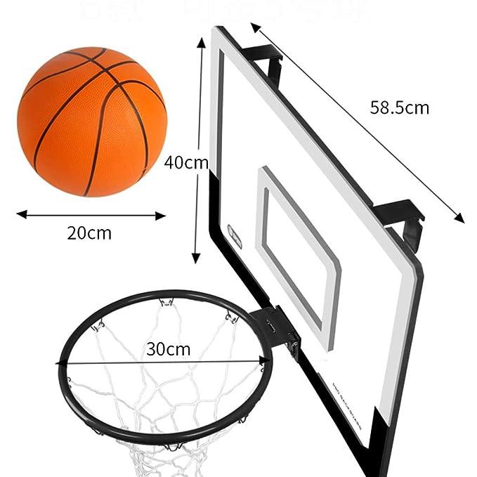 ZAQI Aro Baloncesto Aro de Baloncesto for Puertas for Interior de ...