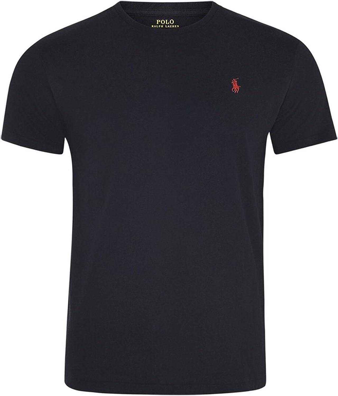 Polo Ralph Lauren Camiseta con Cuello Circular de Hombre: Amazon.es: Ropa y accesorios