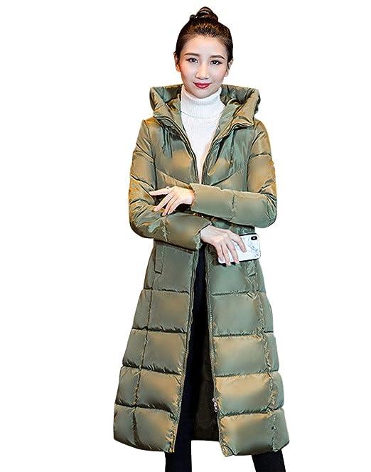 MISSMAOM Mujer Invierno Casual Abrigo Parkas Militar con Capucha Chaqueta de Acolchado Anorak Jacket Outwear Coats, Abrigos de Mujer Invierno: Amazon.es: ...