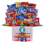 Max Study Snacks College Care Package with over 50 Snacks