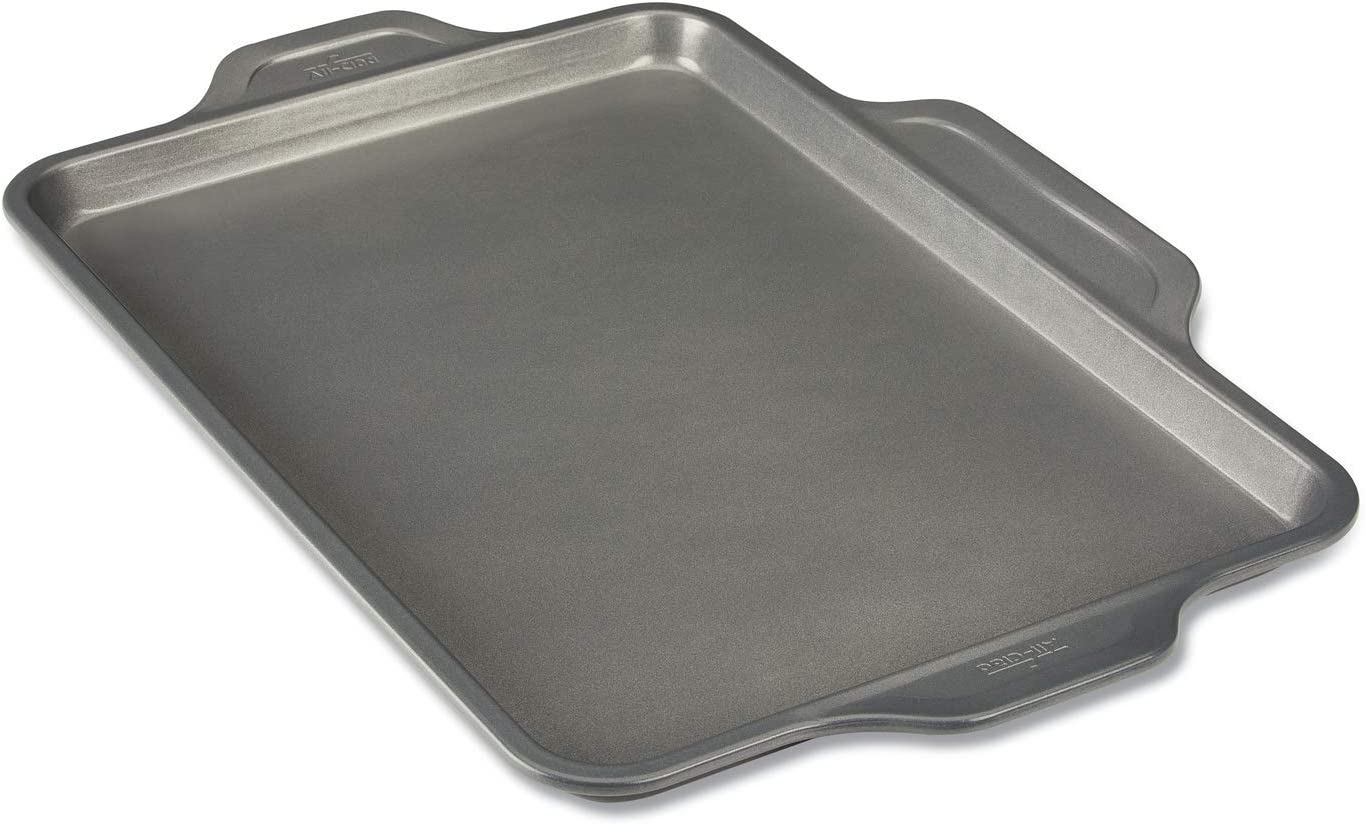 All-Clad Pro-Release bakeware sheet, 17 In x 11.5 In x 1 In, Grey