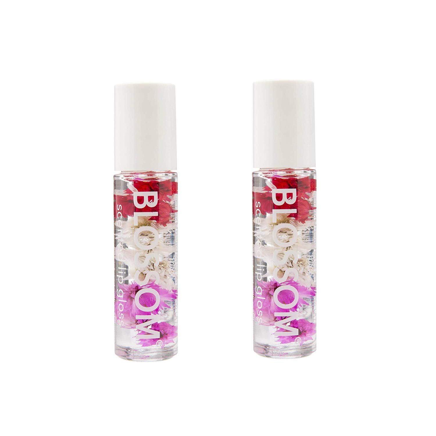 Blossom Roll On Lip Gloss - Strawberry (2-Pack)
