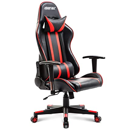 Amazon.com: Case of 5, Gaming Chair Ergonomic Office Chair PU ...