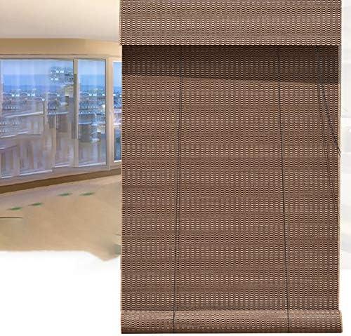BCGT Cortina Bambu Anillo de bambú Natural de Primera Cortina, bambú Cortina Moldeada con la Cortina for la Cabeza, for Puertas, Puerta corrediza, Restaurante, Cocina (Size : W80×H90cm): Amazon.es: Hogar