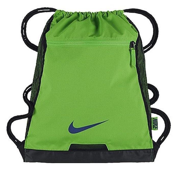 NIKE Alpha Adapt Team Training Drawstring Gymsack Backpack 600 Denier Sport  Bookbag (University Blue with Signature White Swoosh)  Amazon.ca  Clothing    ... 9b5f878ad0099