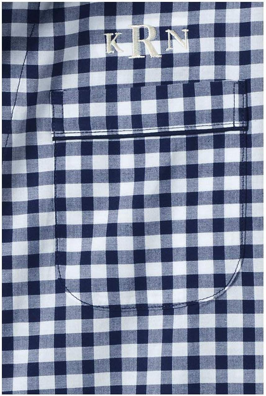 Lands End Mens Broadcloth Pajama Shirt