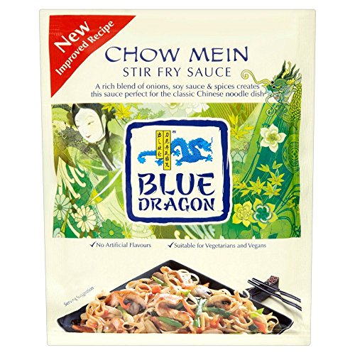 Blue Dragon Chow Mein Stir Fry Sauce - 120g - Pack of 4 (120g x 4)
