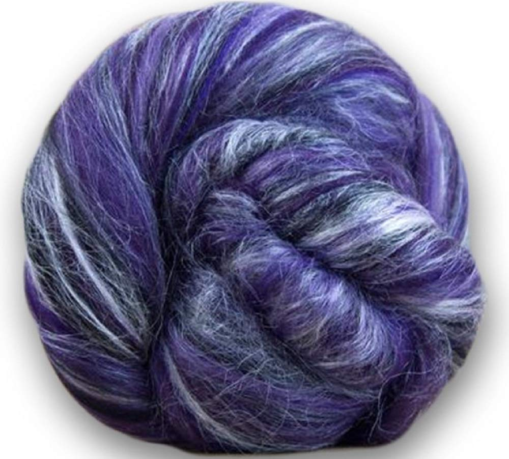 Paradise Fibers Soft & Silky Constellation Range Taurus - 70% 23 Micron Solid Color Merino Wool and 30% Bleached Tussah Silk Blend