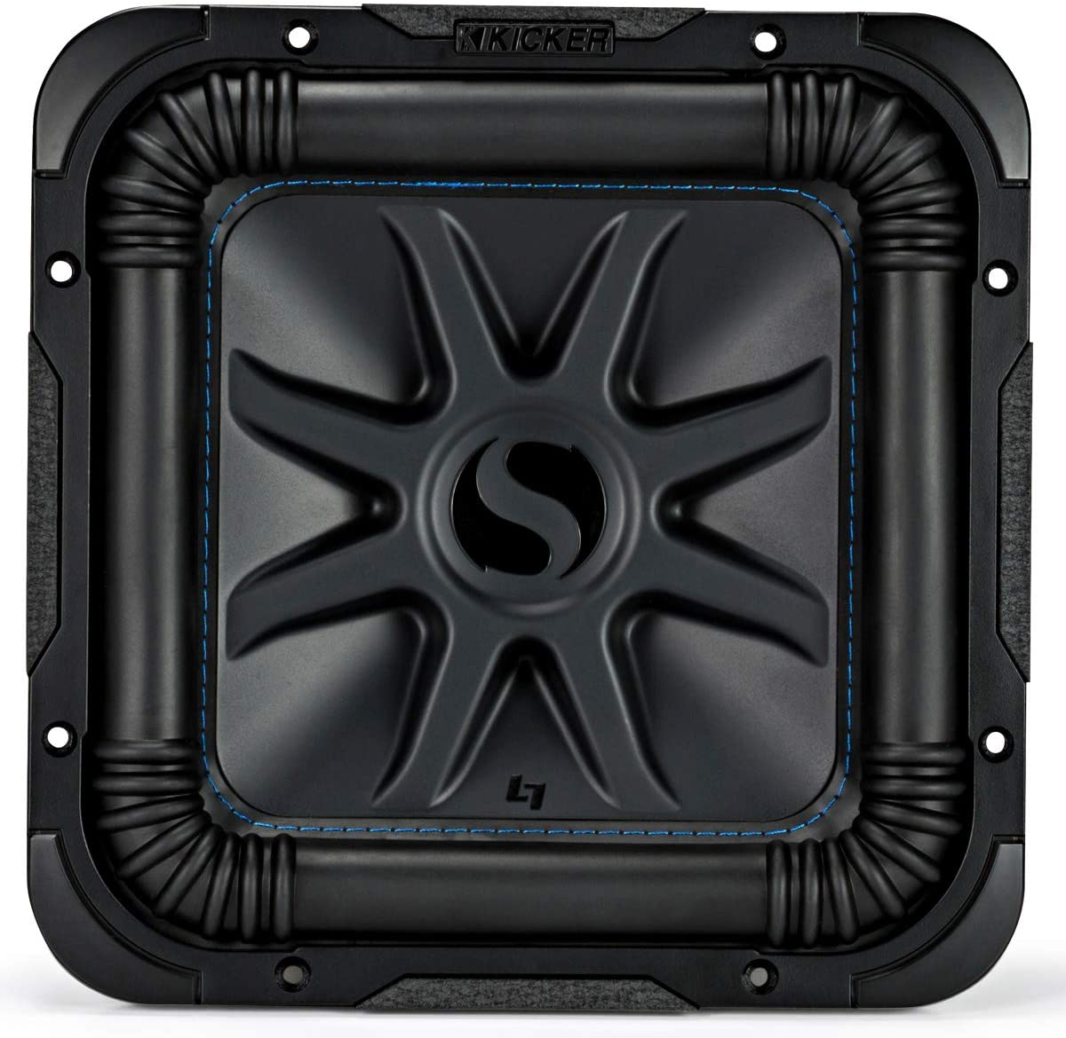 Loaded Kicker Bundle 44L7S124 Car Audio Solo-Baric 12 Sub Box and CXA800.1 Amp Bundle