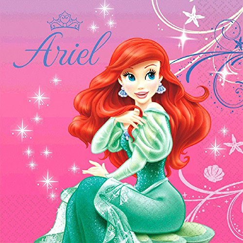 American Greetings The Little Mermaid Lunch Napkins (16 ()