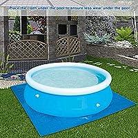 Alfombra de suelo para piscina, alfombra de piscina, protector de ...
