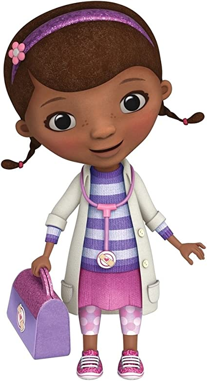 Doc Mcstuffins 37 Wall Decal Mural Disney Kids Doctor Kit Room Decor Stickers Amazon Co Uk Kitchen Home
