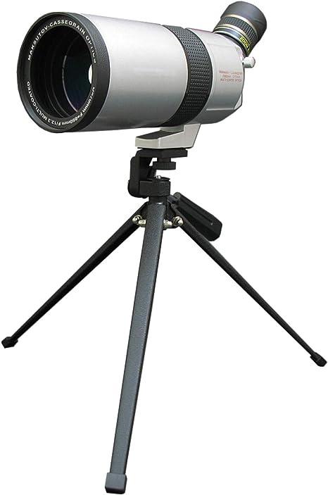 Telescopio Terrestre Zoom de 20-75x70 mm Lente /óptica Totalmente Multicapa Telescopio de dise/ño de con Ocular m/óvil y a Prueba de Niebla con Kit de Montaje r/ápido para tel/éfono Inteligente y tr/ípode