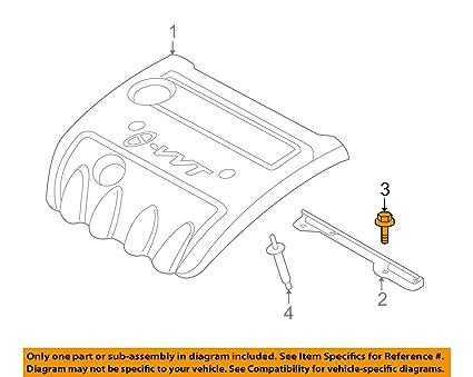 amazon com hyundai oem 09 10 sonata engine appearance cover engine  hyundai sonata engine cover diagram #10