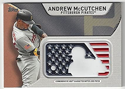 Andrew Mccutchen Independence Day Mlb Silhouetted Batter