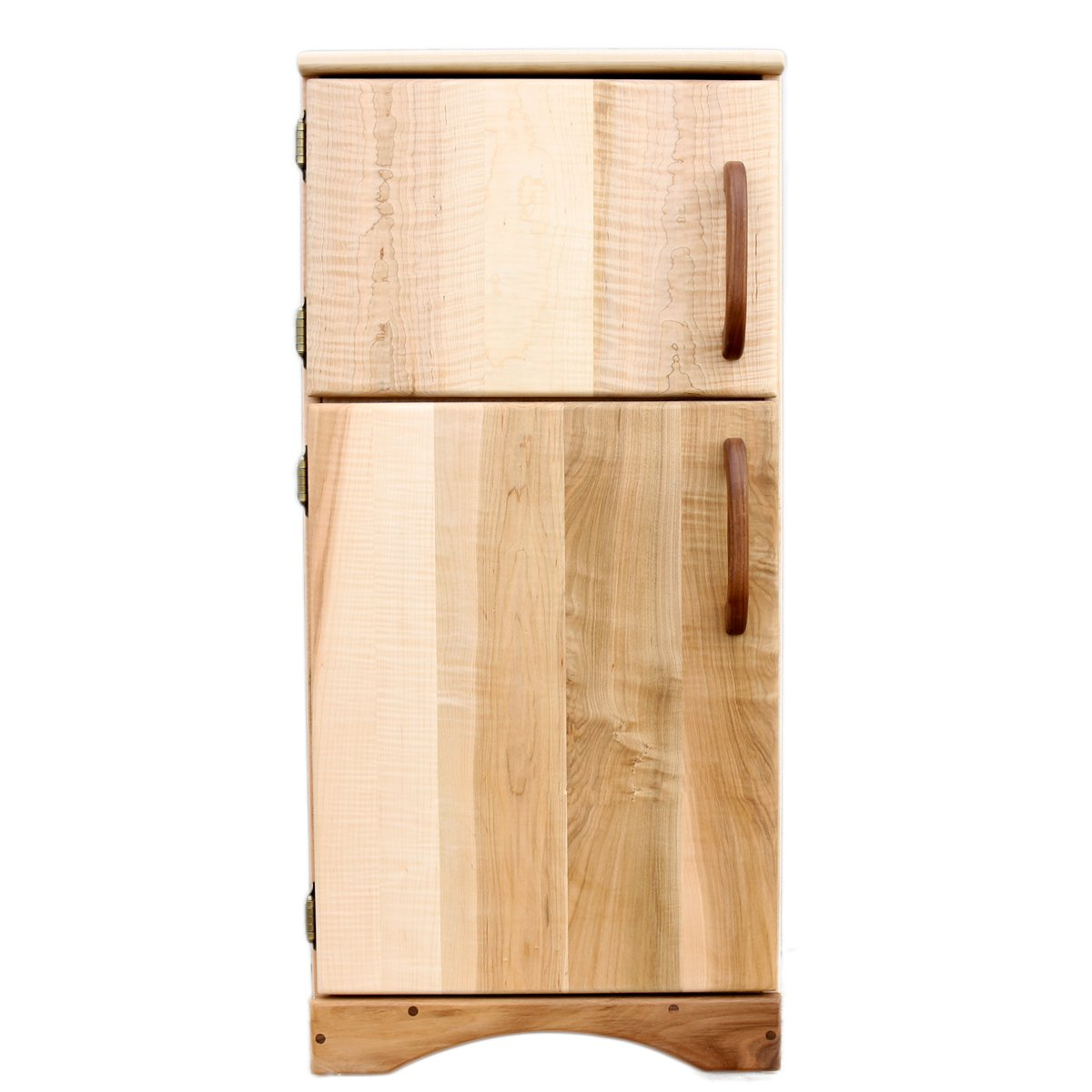 Camden Rose Simple Fridge (Child's Maple Wood Play Refrigerator) by Camden Rose