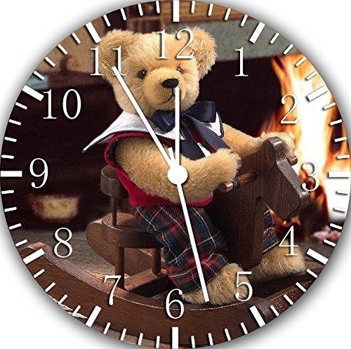 Teddy Bear Frameless Borderless Wall Clock E141 Nice For Gift or Room Wall Decor