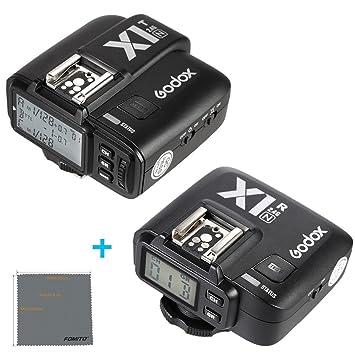 Fomito Godox X1-N TTL 2 4GHz Wireless Radio Flash Trigger X System for  Nikon D810 D800E D7200 D5500 D5100 Cameras, SB910 SB900 SB700 Flashes