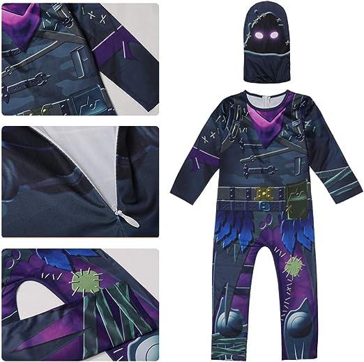 Doriscos Niños Reaper Cuervos Cosplay Disfraz Halloween Carnaval ...