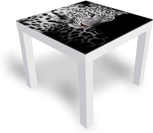 Dekoglas Ikea Table Basse En Verre Avec Plateau En Verre Motif