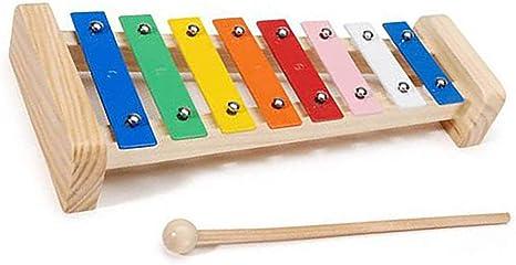 Instrumento de percusión de ayuda de piano de aluminio de 8 tonos ...