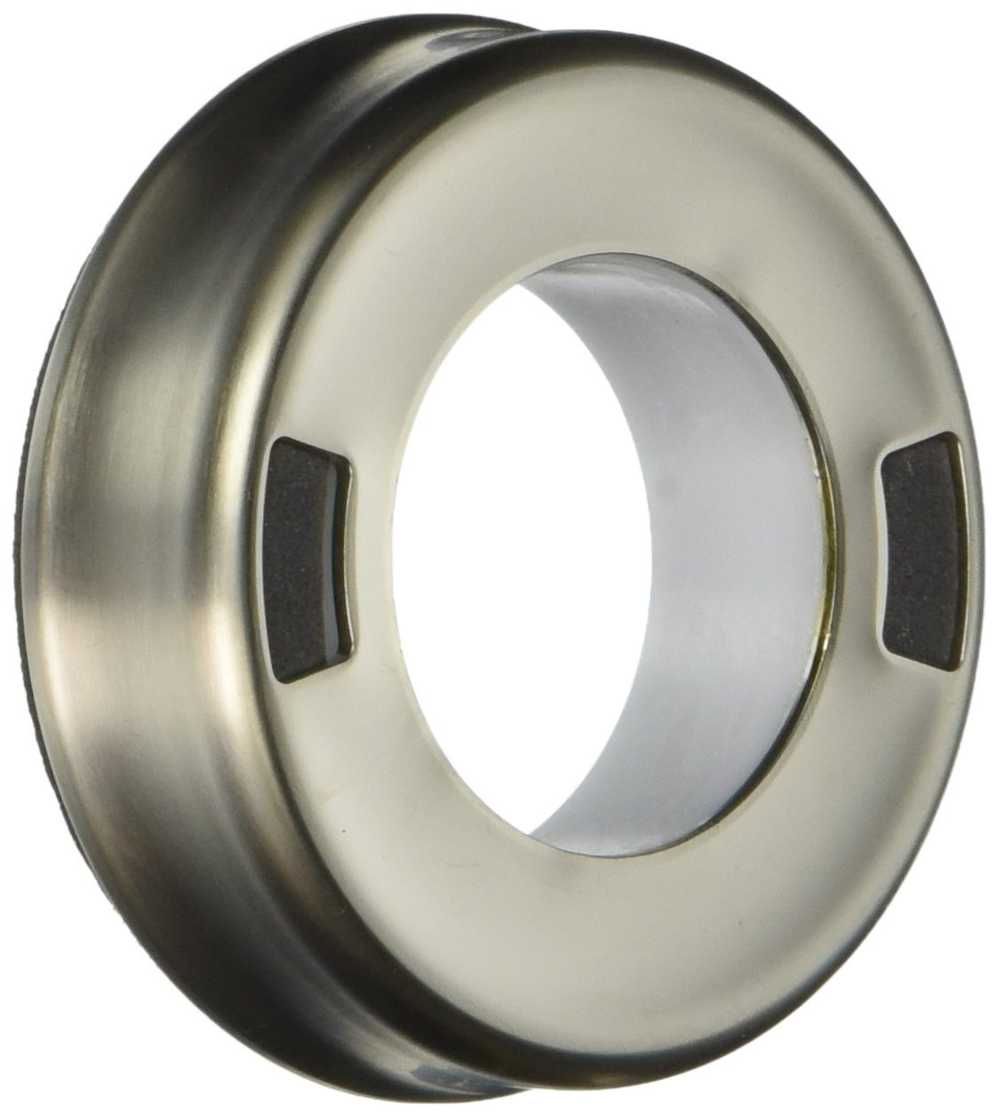 Moen 100151SL Colonnade and Salora Single Mount Escutcheon and Gasket Kit, Stainless Steel