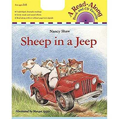 Houghton Mifflin HO-0618695222 Carry Along Book & CD Sheep in A Jeep: Musical Instruments