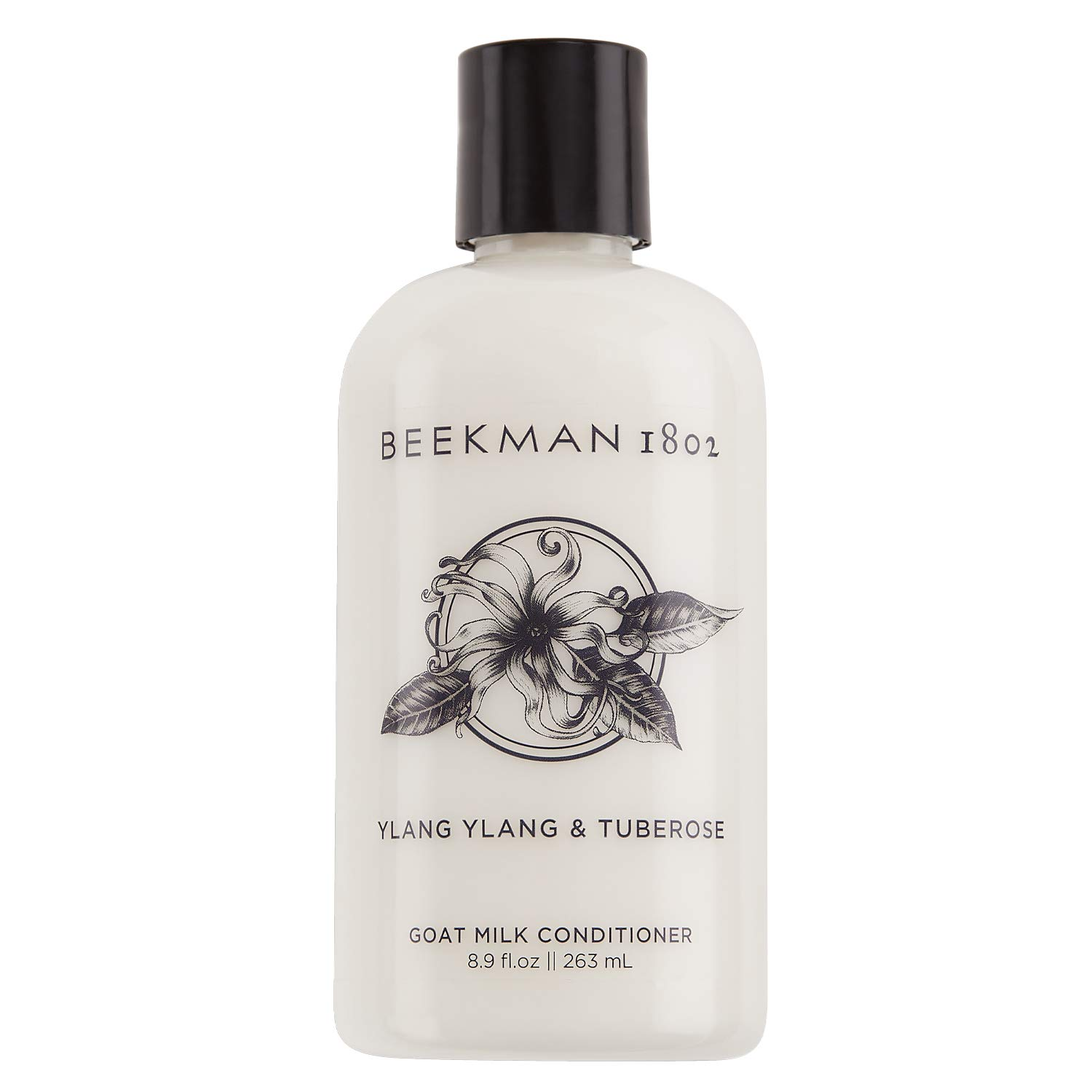 Beekman 1802 - Conditioner - Ylang Ylang & Tuberose - Goat Milk Hair Conditioner - Naturally Rich in Lactic Acid & Vitamins - Cruelty-Free Goat Milk Hair Care - 8.9 oz