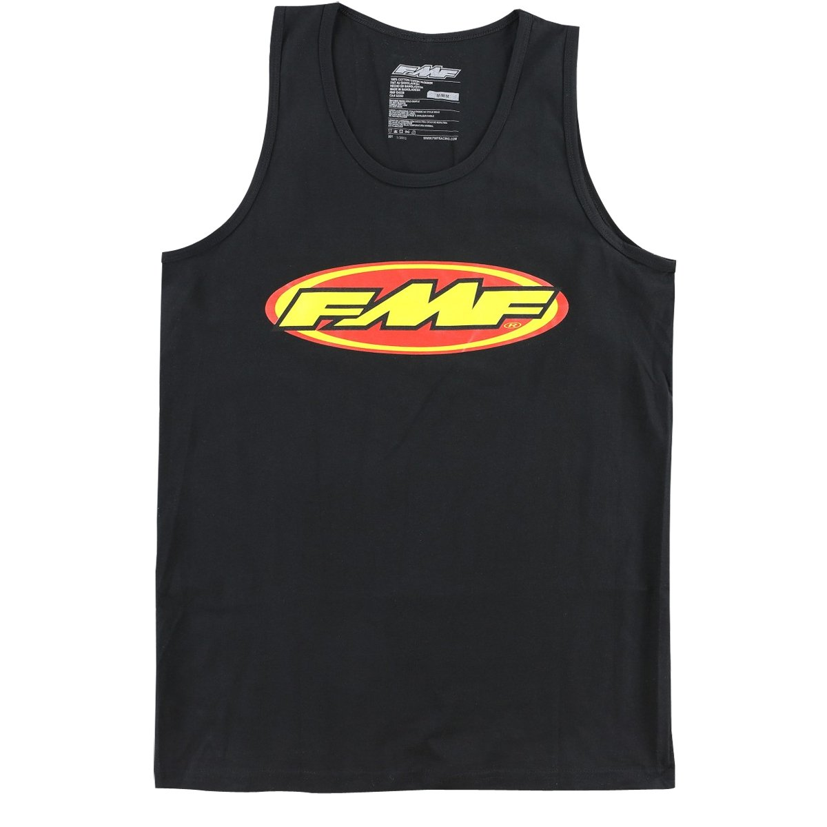 FMF F251S23102BLKL Men's The Don Tank Top (Black, Large)
