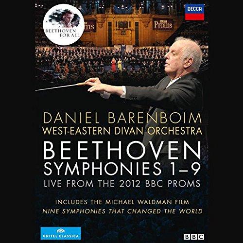 DVD : Ludwig van Beethoven - Nine Symphonies (4PC)