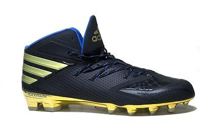 new arrival 7b40f 502ca adidas Mens SM Freak X Carbon Mid Football Cleats (12, Core BlackGold