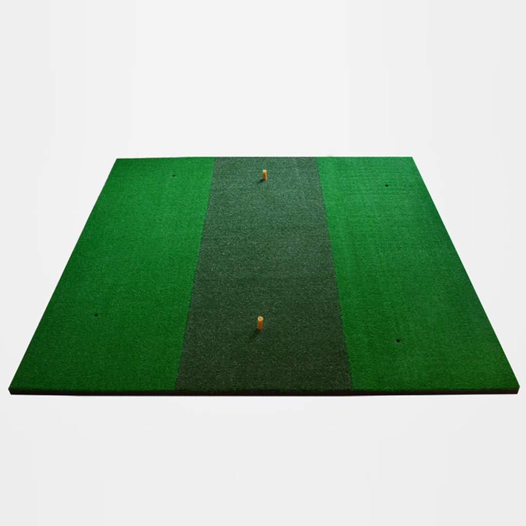 Dongyゴルフ練習用マットエクストララージ - 運転、ピッチ、150 * 150 cm B07J647RW3