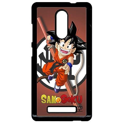 Carcasa Xiaomi Redmi Note 3 Dragon Ball Kid San Goku: Amazon ...