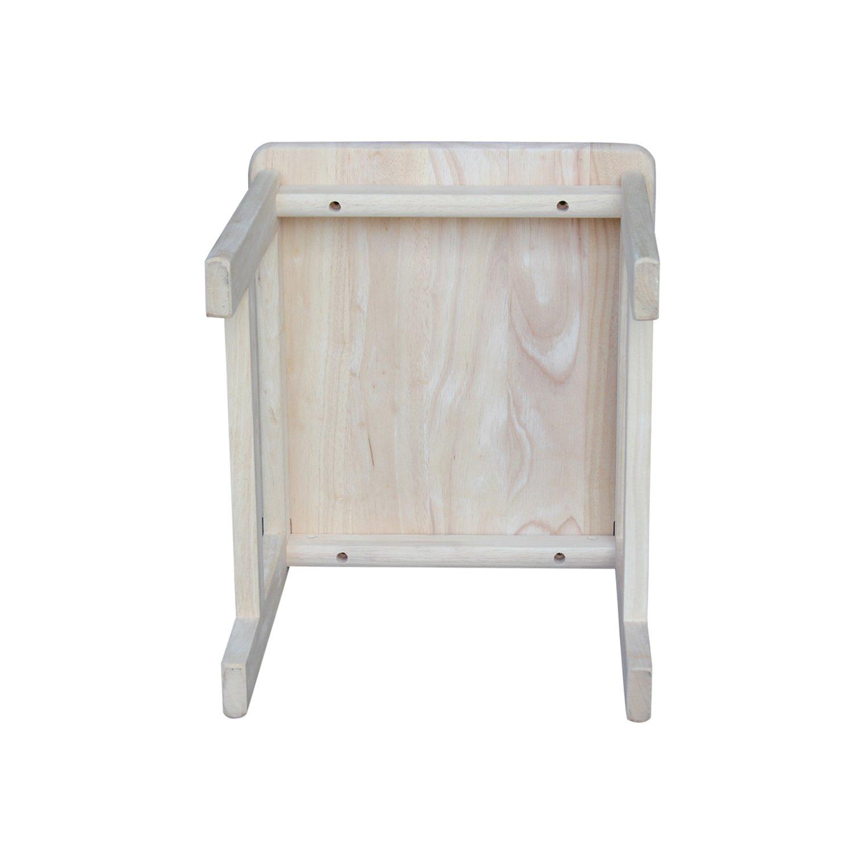 International Concepts Unfinished Juvenile Chair, Set of 2 by International Concepts (Image #6)