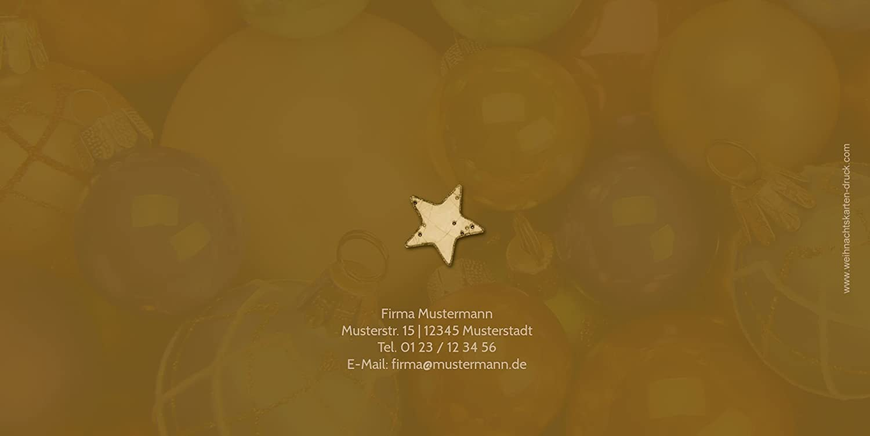 Kartenparadies Kartenparadies Kartenparadies Einladungskarte zu Weihnachten Einladung Christbaumkugeln, hochwertige Weihnachtseinladung zum Selbstgestalten (Format  215x105 mm) Farbe  OckerBraun B01MQIAJNX | Verkauf  | New Products  | Shop  3d5251