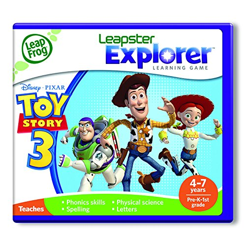3 parallel import goods leapfrog English learning game Toy Story by LeapFrog Enterprises
