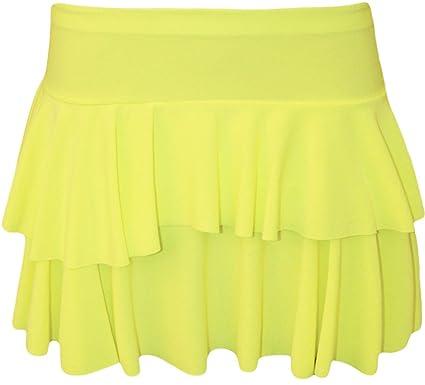 ba6666e3c2d93 Image Unavailable. Image not available for. Colour  Barakah Fashion New  Women Mini Short NEON UV Dance Rara Skirt Hen Night Casual Club Wear