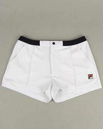 Fila Vintage Bottazzi Shorts WhiteNavy L: Amazon.co.uk