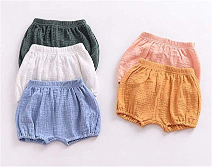 3PC Shorts Set Newborn Baby Girls Boys PP Pants Plaid Floral Ruffle Bow Bloomers Triangle Shorts Diaper Cover Pants Outfits