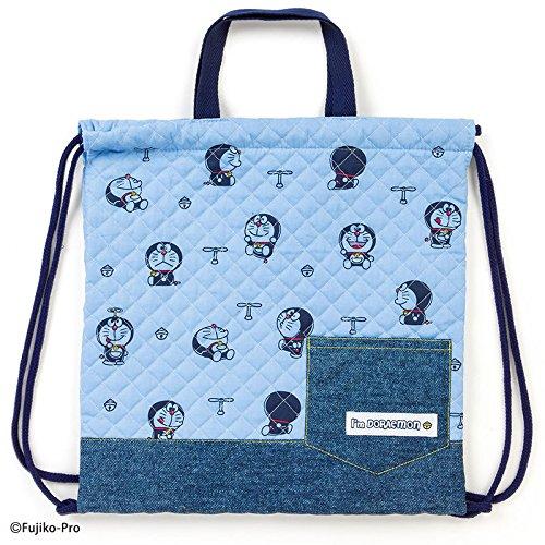 Sanrio Doraemon quilting hand string purse I'm DORAEMON coma From Japan New
