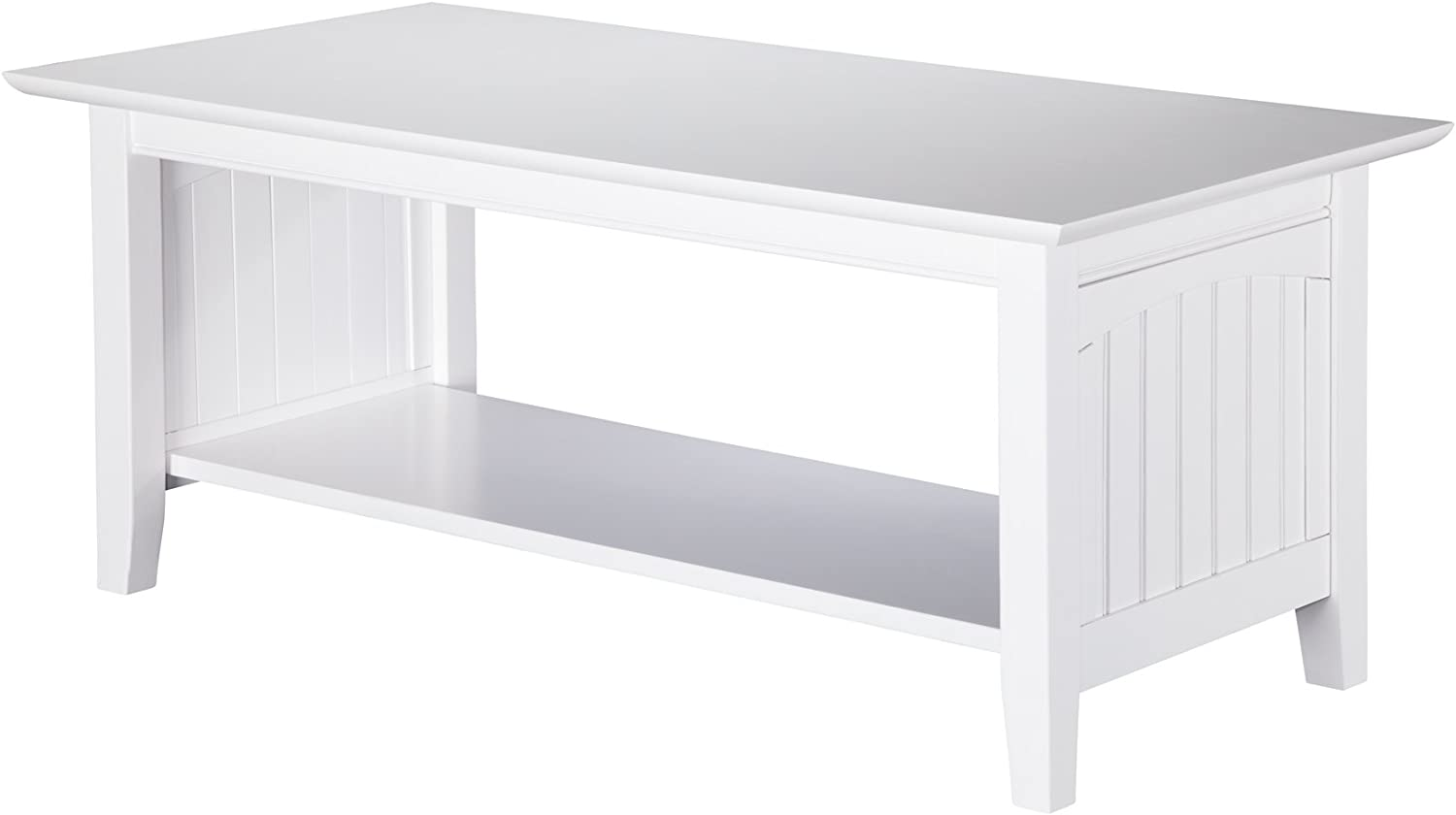 Atlantic Furniture Nantucket Coffee Table, White