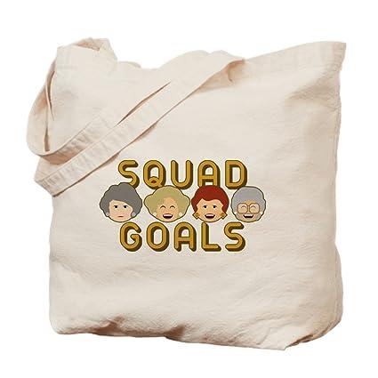 0742d3fe73 Amazon.com  CafePress - Golden Girls Squad Goals - Natural Canvas ...