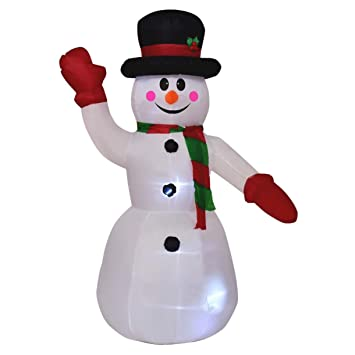 Inflatable Snowman Outdoor Christmas Decorations - Lighted Yard Decorations  - Party Xmas Home Decor - Snowman - Amazon.com: Inflatable Snowman Outdoor Christmas Decorations