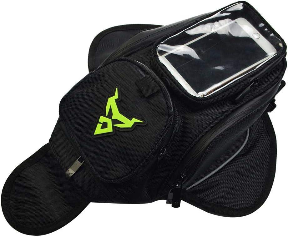 Chen0 Super Tanktasche Für Motorräder Motorräder Mit Starkem Magnetischem Gps Reise Satteltasche Wasserdicht Oxford Klein Green Label Sport Freizeit