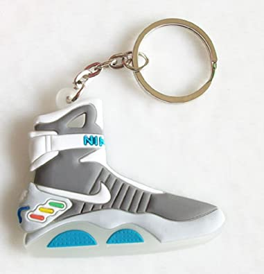 best sneakers d1804 9d064 Nike Air Mag Keychain Back to the Future Glows In Dark McFly Self Lacing  Sneaker  Amazon.co.uk  Jewellery